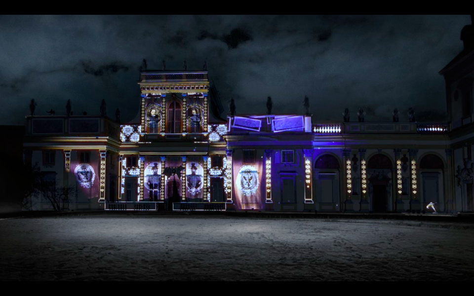 WILANOW PALACE MUSEUM  ROYAL GARDENS OF LIGHTS